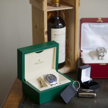 Rolex Batman watch, Macallan Whisky , Diamond Ring and Bentley Car Keys